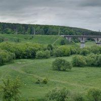 Залізничний міст через р. Случ (Panorama), Броницкая Гута