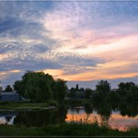 Ранок на Олійниці / Early morning, Броницкая Гута
