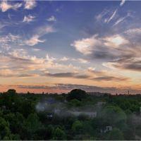 Панорама вечернего города..., Быковка