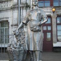 ►Скульптура женская, Быковка