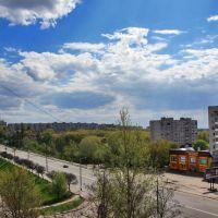 Вид на мост, Быковка