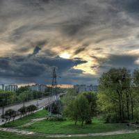 Мост через р.Каменку, Быковка