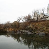Вид на костел, Володарск-Волынский