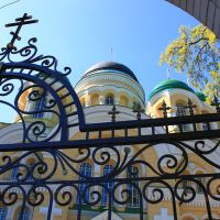St. George Stavropighial monastery. By the gates., Городница