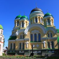 St. George Stavropighial monastery. The view from the monastery yard., Городница