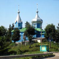 Церковь. A church., Гришковцы