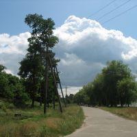 Дорога на набережную, Емильчино