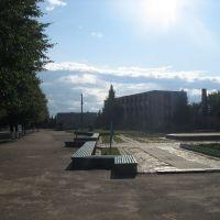 Скамейки возле ДК, Емильчино