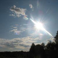 Поле, солнце, небо, Емильчино