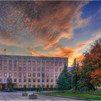 Вечерний город, Житомир