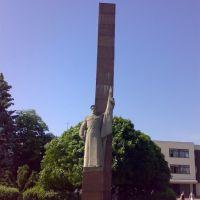 памятник Воинам-железнодорожникам, Коростень