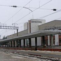 Вокзал станции Коростень, 20.02.2010, Коростень