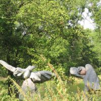 каменные фигурки, Коростышев