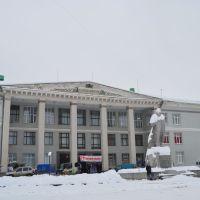 Дом культуры в Коростышеве. 1964г./ House of Culture in Korostyshev 1964, Коростышев