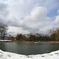 Lakes at park, Коростышев
