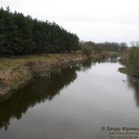 Річка Тетерів неподалік міста Коростишів (Teteriv River near Korostyshiv)., Коростышев