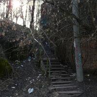 Парковая лестница. Коростышев, Коростышев