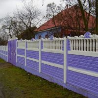 Paradoxes of architecture: freak fence, Лугины