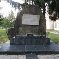 Памятник афганцам, Овруч