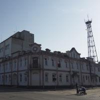 угловой дом с часами (к.19-н.20вв), Овруч