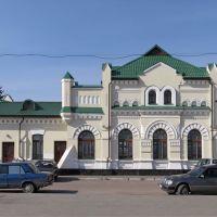 Вокзал ст. Олевськ, Олевск