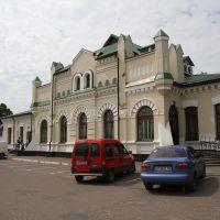 вокзал ст. Олевск, Олевск