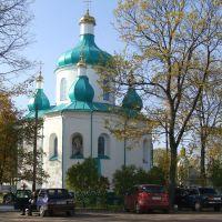 Олевск.Николаевская церковь 1596 год., Олевск