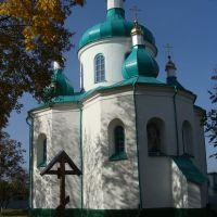 Олевск. Николаевская церковь 1596 год., Олевск
