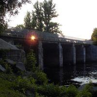 мост через р Мыку, Радомышль