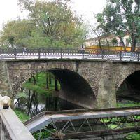 Каменный мост через канал у имперских (австро-венгерских) времён казино., Берегово