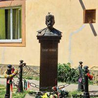 Берегове (Beregszász), Ukraine (Kárpátalja) - Szent István király szobra, Берегово