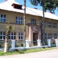 Czech school, Bustino, UA, Буштына