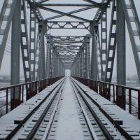 ЖД міст, Буштына