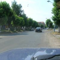 Velikiy Bereznyy. Shevchenko str. (central street), Великий Березный