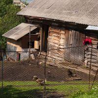 Типичный домик с хозяйством, Воловец