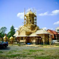 Будівництво церкви, Иршава