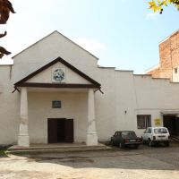 Former Great Synagogue in Irshava, Иршава