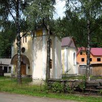Церковь. A church., Межгорье