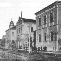 теперешняя школа №1, Мукачево