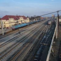 Вокзал у Мукачеві. 12 січня 2010, Мукачево