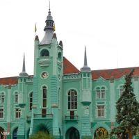 City hall (1904) in Mukacheve, Мукачево