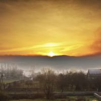 Sunrise - Sonnenaufgang in Transkarpatien, Перечин