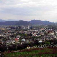 Вид на місто Перечин, Перечин