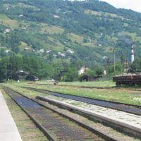 Train in Rakhiv, Рахов