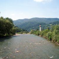Tysa river, Рахов