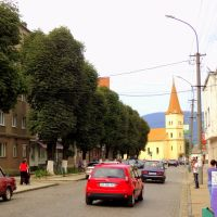 Свалява.Центр города.2012, Свалява