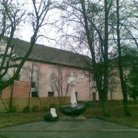 Свалява, колишня синагога. Former synagogue in Svalyava, Свалява