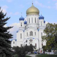 Orthodox Temple of Christ the Saviour . Крестовоздвиженский кафедральный православный собор. ANNO 2000, Ужгород