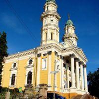 Ужгород - Здвиженський кафедральний собор, Greek Catholic Cathedral in Uzhhorod,  1646 - 1848, Ужгород