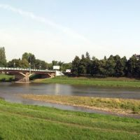 Набережная Независимости и транспортный мост, Ужгород